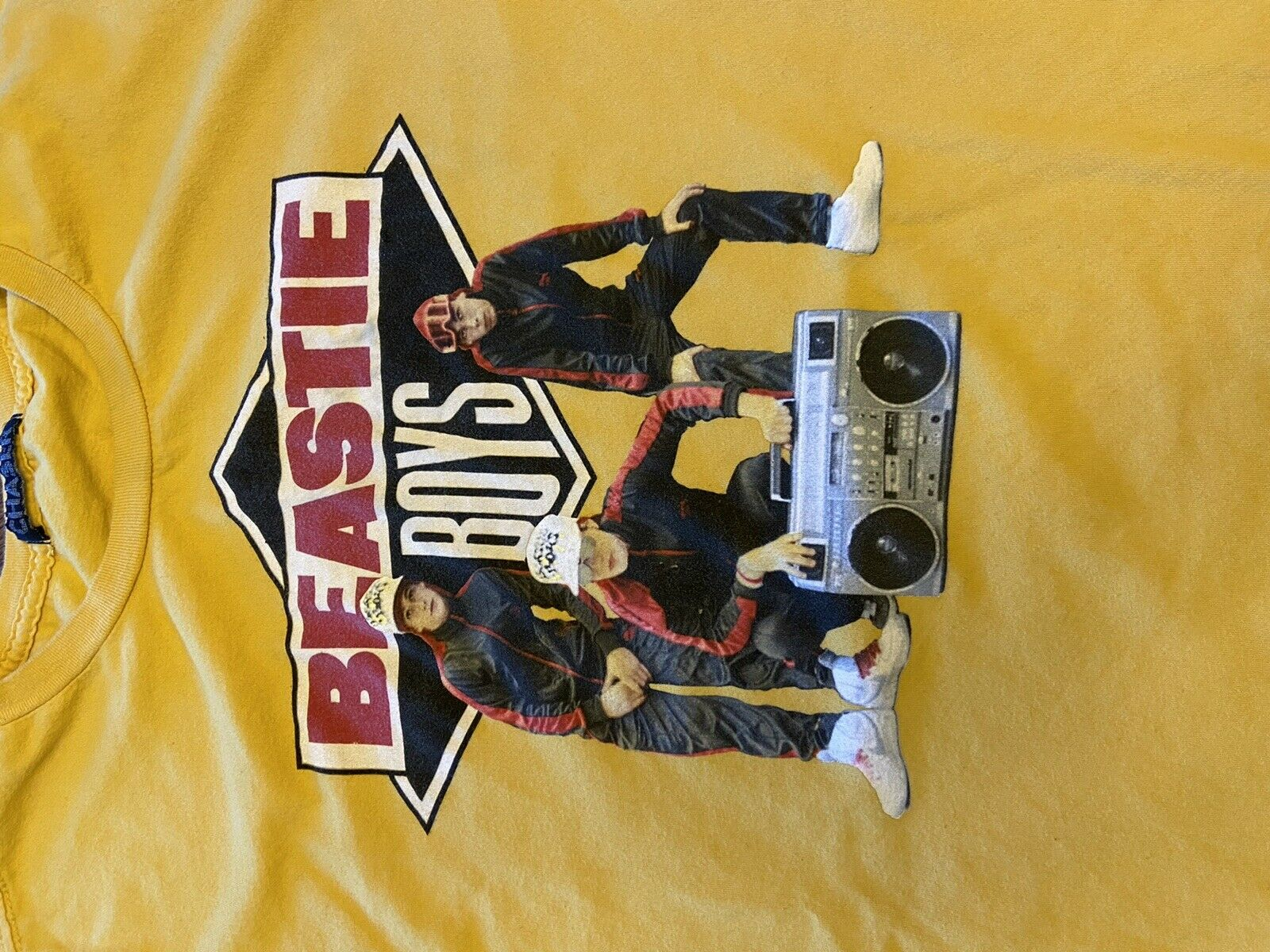 Beastie Boys Graphic Shirt Sz L - image 2