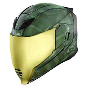Icon-Airflite-Battlescar-2-Mens-Street-Road-Riding-Racing-DOT-Motorcycle-Helmets