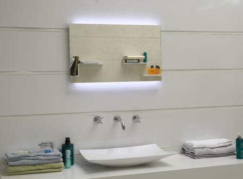 Design Miroir de Salle Miroir mural avec DEL-éclairage gs043n Lumière Miroir ip44