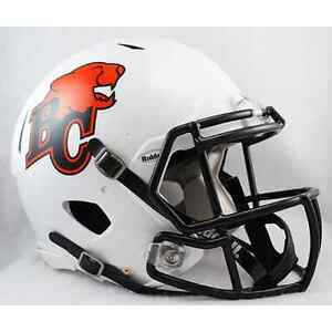 Image is loading BC-LIONS-Riddell-Revolution-SPEED-CFL-Football-Helmet d7900b9d7
