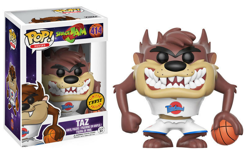 Taz Chase Basketball Space Space Space Jam Looney Tunes POP  Movies  414 Vinyl Figur Funko c3e582