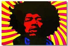 Jimi hendrix Art Wall Cloth Poster Print 223
