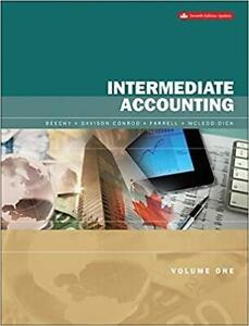 Intermediate Accounting Volume 1 Updated 7th Edition Canada Preview
