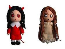 "Mezco Toyz 8"" Living Dead Creepy Cuddlers Series 2 -two Plush dolls:  Posey, Sin"