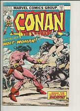 Conan the Barbarian #49 FN 1975 Stock Image