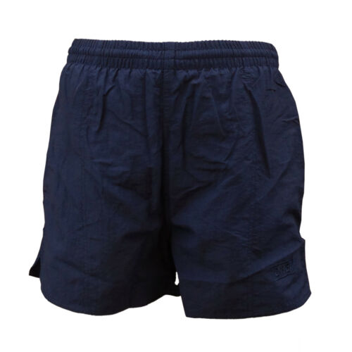 """CHEX Boys Navy Blue Mesh Lined Swimming Casual Sports Shorts 26/""""//28/"""" Tie Waist"""