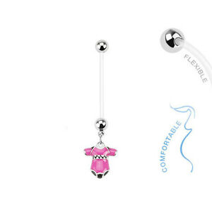 Grossesse Nombril Piercing Maternité Boule Cristal Piercing