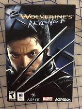 X2: WOLVERINES REVENGE MAC CD GAME * OS X NEW US ORIGINAL SEALED PRODUCT *