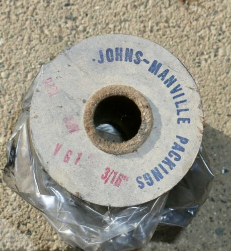 """Braided Graphite Spool Valve Packing Style 397-10 mm Johns-Manville 3//8/"""""""
