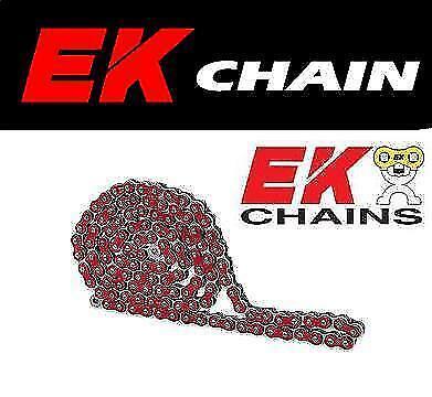 120 Links EK Motor Sport 520 MVXZ Quadra X-Ring Chain Natural