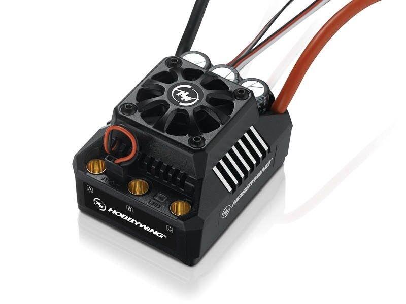 Hobbywing Ezrun regulador max6 v3 160a Bec 6a 3-8s WP para 1 6 - hw30105000
