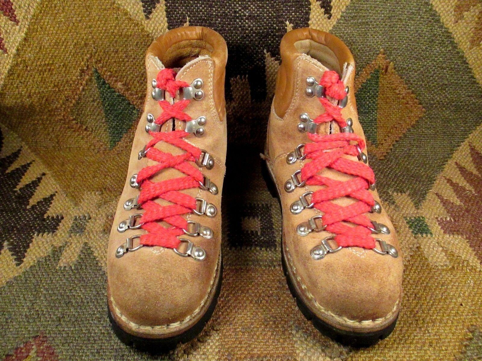 Vintage chaussures de randonnée Kinney Couleurado alpinisme M-5 W-6.5