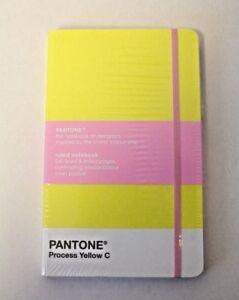 Image Is Loading Pantone Process Yellow C Ruled Hardback Notebook A5