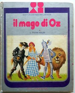 IL-MAGO-DI-OZ-L-FRANK-BAUM-FABBRI-1975-CARLO-GALLENI-libro-illustrato