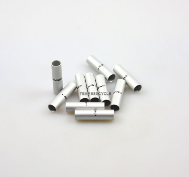 NEW Jagwire 4mm Double-Ended Connecting// Junction Ferrule Bag of 10