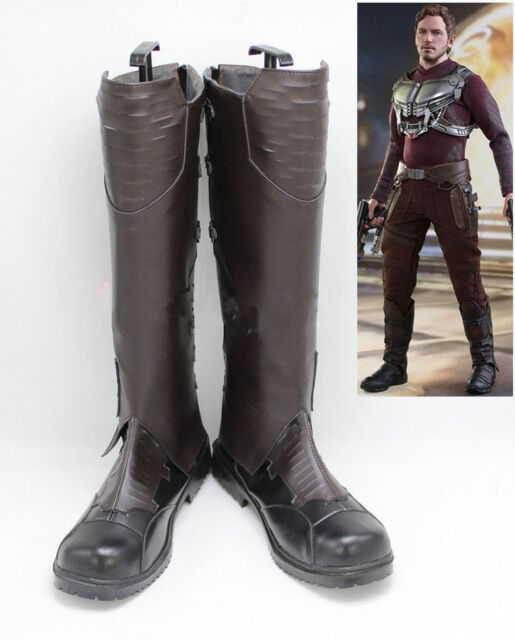 Newcos Cosplay Boots Shoes for Guardians of the Galaxy 2 Star-Lord