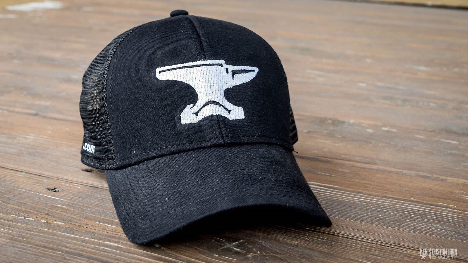 Anvil  Mesh  Back Blacksmith Hat  Mesh  Cap 44f1a3