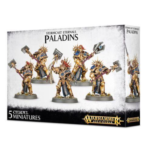 Warhammer Age of Sigmar Stormcast Eternals Paladins plastic box new