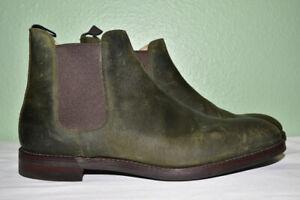 3a62409ac45 Details about Crockett & Jones Chelsea 5 Roughout Suede Boots UK 12 E / US  13 D