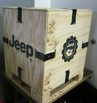 Jeep performance wooden crate