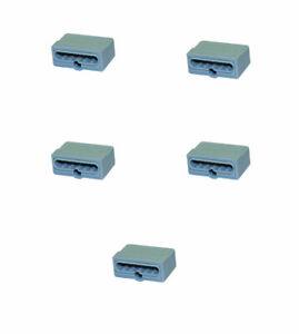 5 Stück 6-polig 0,75-1,5 mm² Dosenklemmen Düwi REV  Steckklemmen