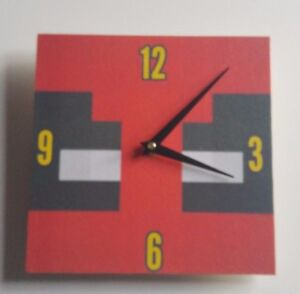 Image Is Loading Wooden Minecraft Style Deadpool Handmade Wall Clock Gift