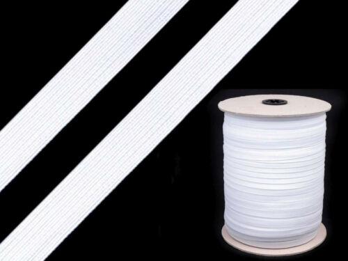2m Wäschegummi 11 mm Gummilitze Einfassgummi Besatzgummi elastisch