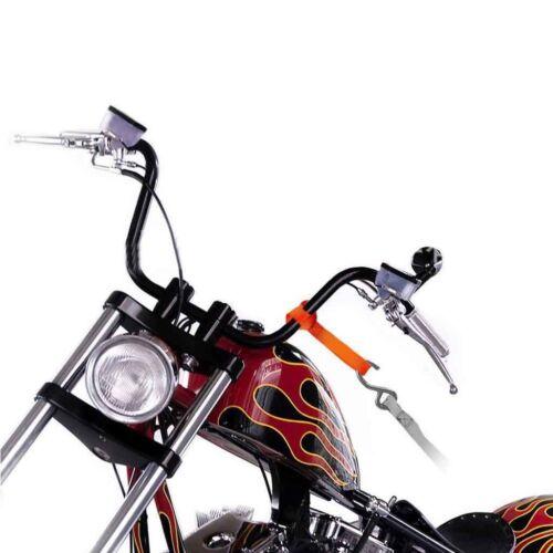 4pcs 1200 LB Moto Tie Down Straps Doux Boucle Tie Down Straps pour ATV UTV environ 544.31 kg
