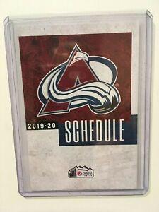 colorado avalanche schedule 2020