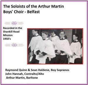 Details about Arthur Martin Boys' Boy Soprano Soloists 1950's Raymond Quinn & Sean Haldene