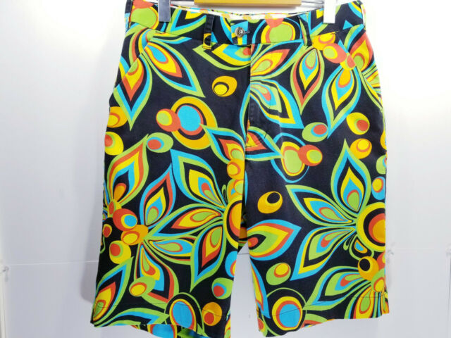 Loudmouth Golf Mens Size 32 Shorts Multicolor