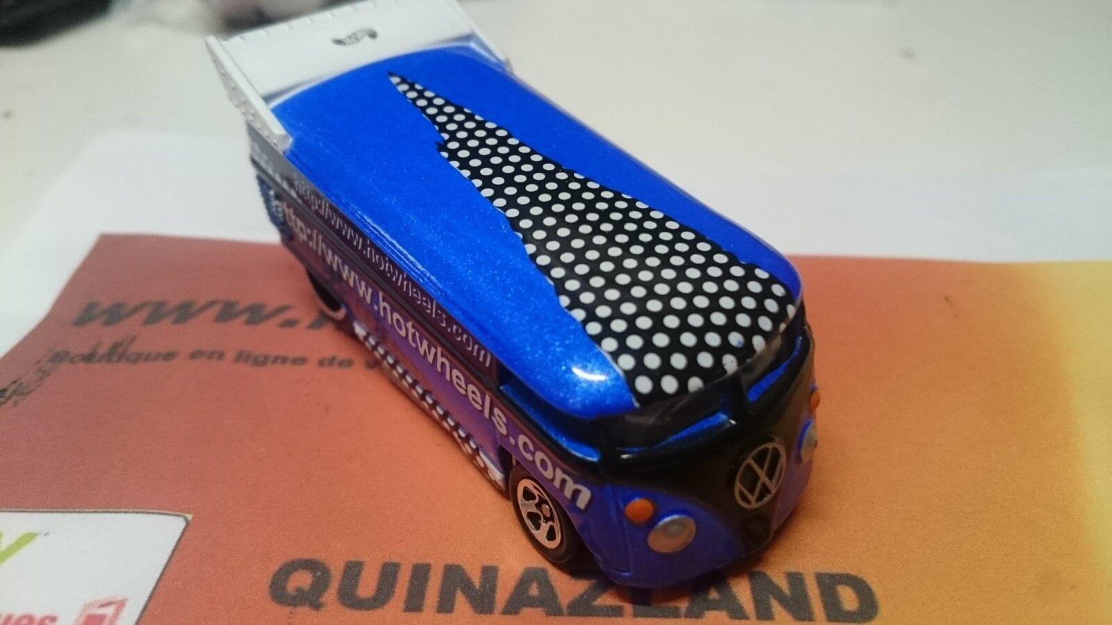 Hot Wheels Volkswagen Drag Bus Mattel Web page Exclusive 1999 azul (BC3)