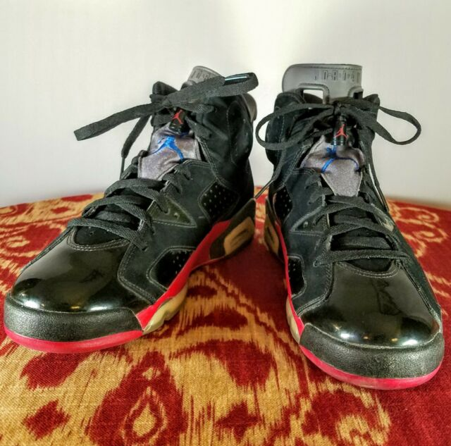 more photos 1bfec b990d Nike - Air Jordan - VI 6 Retro (384664 001) - Black Blue Red