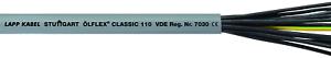 10 Meter Lapp Kabel 1119204 ÖLFLEX CLASSIC 110 4G1mm² PVC-Steuerleitung YSLY-JZ