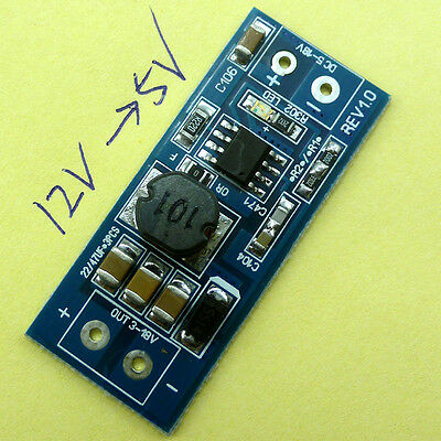 MC34063 DC-DC DC12V DC 9V to DC 5V Buck Step Down Power Module Replace LM2596