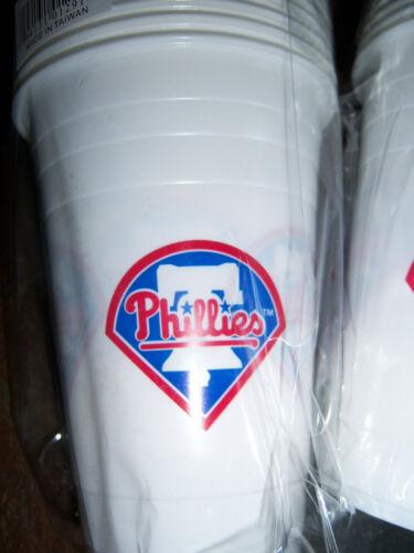 24-16 oz Philadelphia Phillies Reusable Plastic Cups