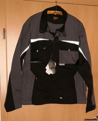 TERRATREND Job Revolution Herren Berufsjacke schwarz grau Grösse 54