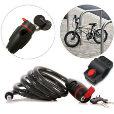 3 Sizes Available XLC Al Capone 3 Coil High Security Cycle Bike Cable Lock