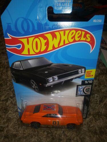 Hot Wheels custom Dukes of Hazzard General Lee  69 Charger 500 super call