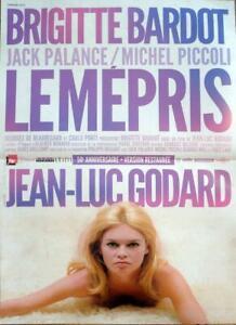 Le mepris Poster////Le mepris Movie Poster////Movie Poster////Poster Reprint
