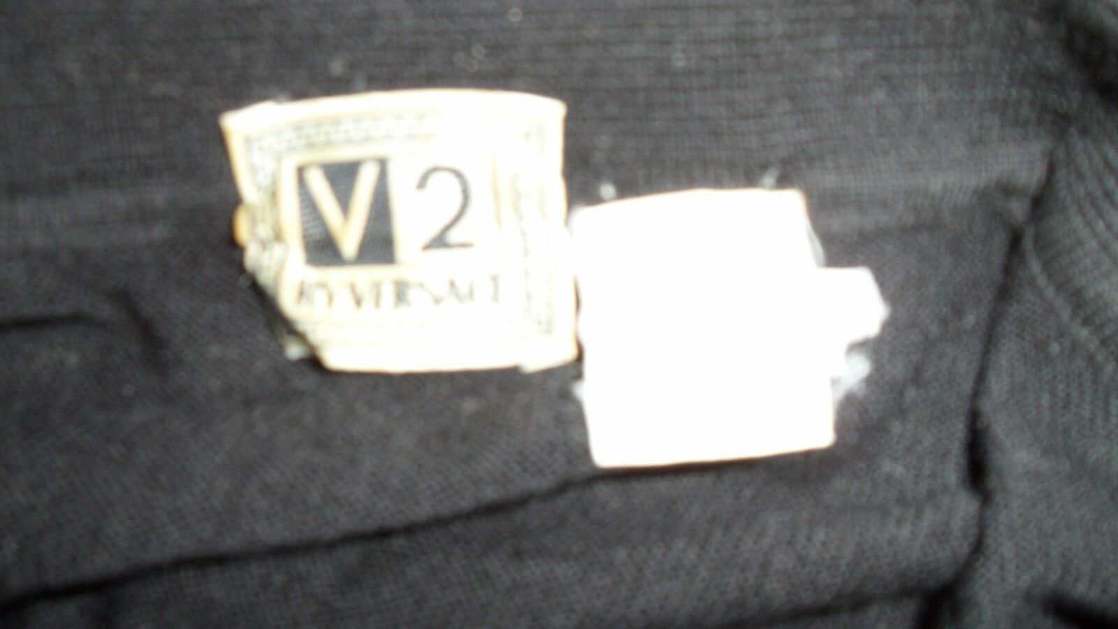 V2 BY VERSACE POLO Uomo'S SWEATER SHIRT, SHIRT, SHIRT, PERFECT FIT, MINT CONDITION, L 614d9b