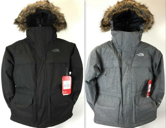 New Boy s The North Face Mcmurdo Parka Jacket 550 Fill Goose Down HyVent 2L  CSF4 98ca67d4826d