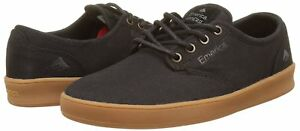 Emerica Romero Mens Gray Gum Nib Black Shoes Laced Skateboarding eb2DHYE9IW