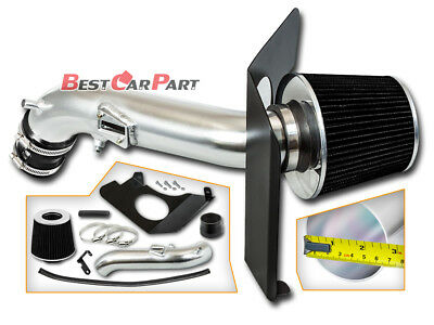 Filter BCP BLACK 05-12 For Pathfinder Xterra 4.0L Heat Shield Cold Air Intake