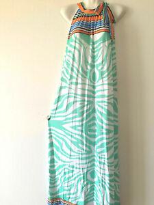 PLUS-SIZE-Women-Long-Maxi-summer-beach-hawaiian-Boho-evening-party-sundress-4