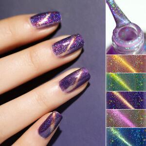 BORN-PRETTY-6ml-Cat-Eye-Holographic-Nail-Polish-Glitter-Shiny-Nail-Art-Varnish