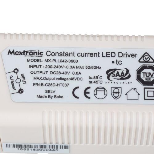 LED Konstantstromquelle 17 bis 25W 600mA 28-42V DC