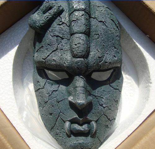 Jojo bizarre adventure Stone ghost Mask Halloween party cosplay collection prop