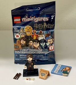 Lego Harry Potter Series 2 Neville Longbottom Book Monsters Minifigure 71028