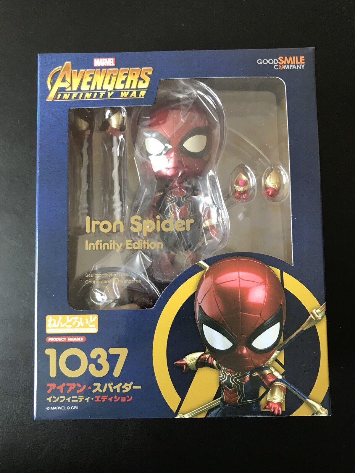 Iron Spider Man Infinity Edition Avengers Marvel NendGoldid Goossmile  10037